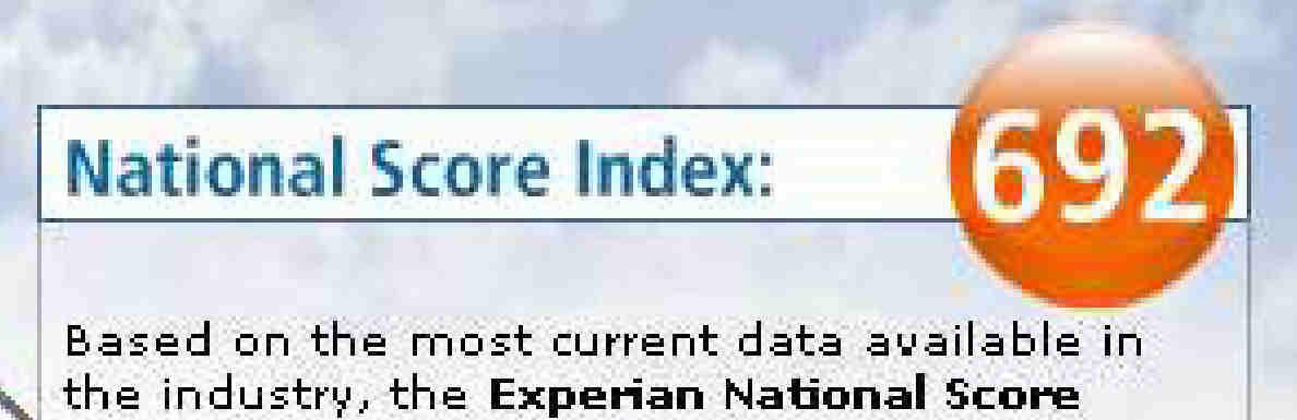Experian Credit Score Chart. Credit Score Distribution